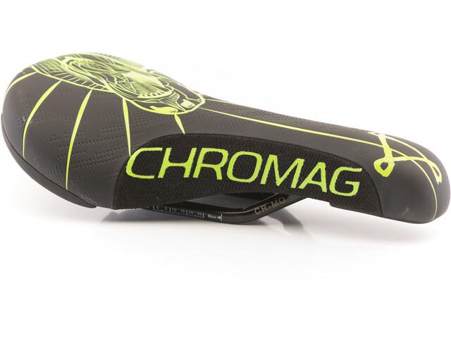 Chromag Overture Siodełko, black/tight green